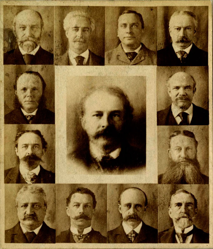 Henry Pickering Bowditch: 12 Boston Doctors and their Composite 1892