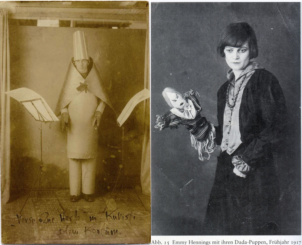 Hugo Ball + Emmy Hennings: Cabaret Voltaire 1916