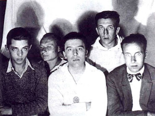1924_anon_Georges-Malkine,-Andre-Masson-Andre-Breton,-Max-Morise,-Georges-Neveux_c