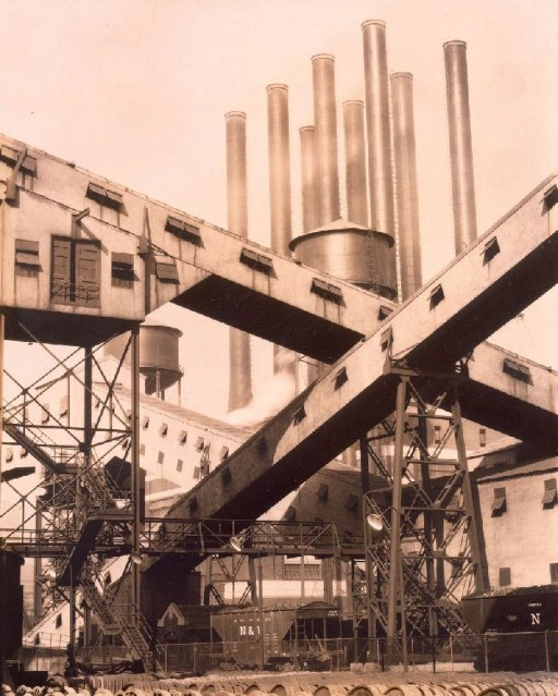 1927_Sheeler_Criss-Cross-Conveyors_Ford-Factory_c