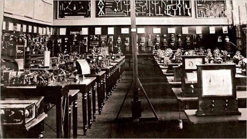1934_Otlet_Mundunaeum_library_c