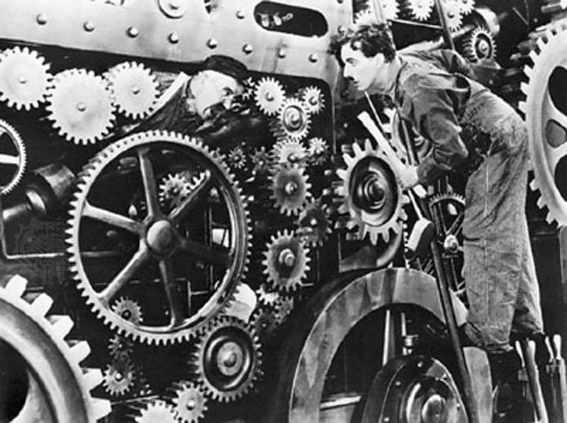 Charlie Chaplin: Modern Times 1936