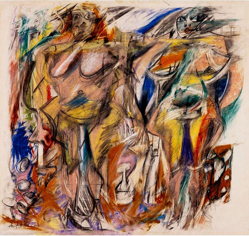 1952_De Kooning_Two Women Still Life_c