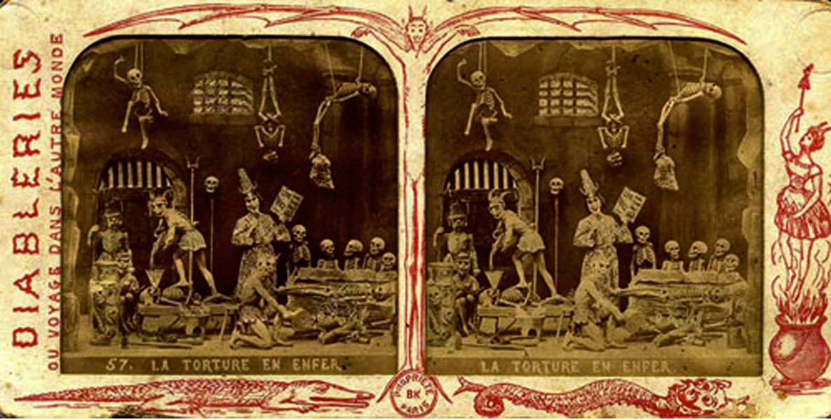 unknown artist: Diableries 1861