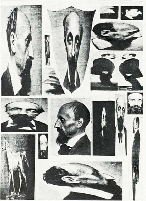 Arthur-Louis Ducos du Hauron: Transformisms 1870