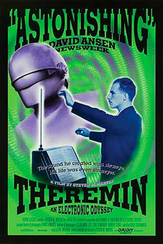 Leon Theremin: Theremin Electronic Music Instrument 1919