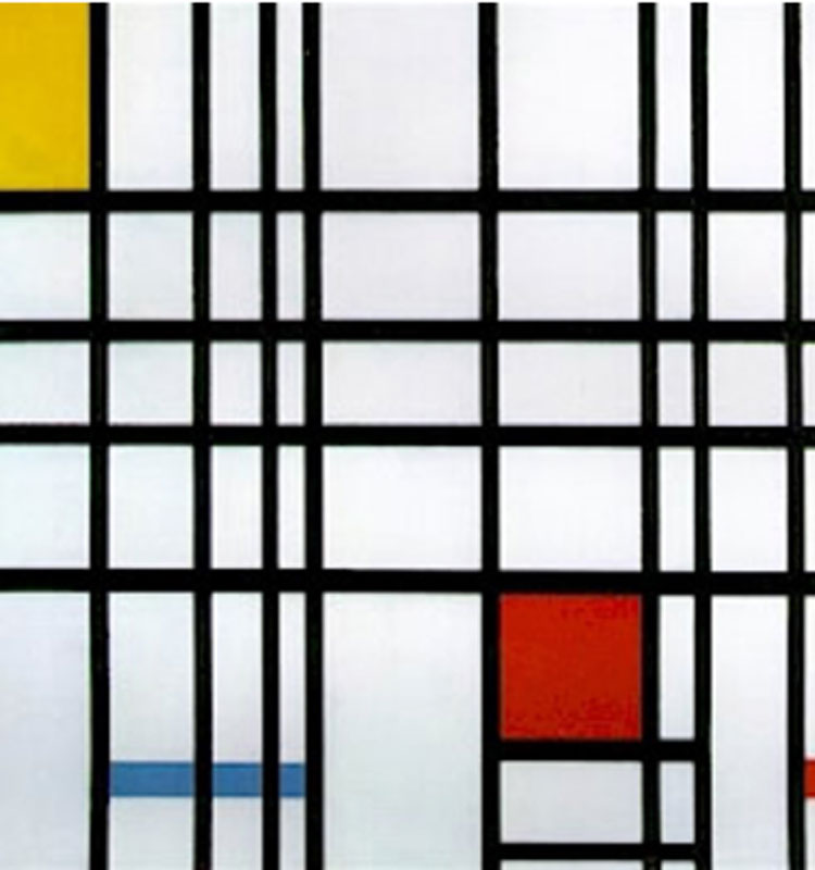 Piet Mondrian: Composition 1921