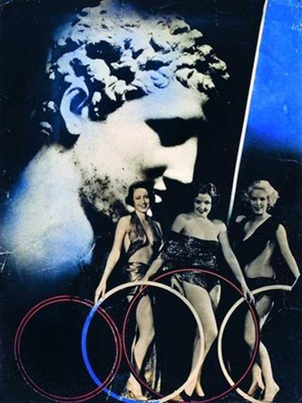 Janusz Maria Brzeski: Zrwonice (Crossover) photomontage series 1936