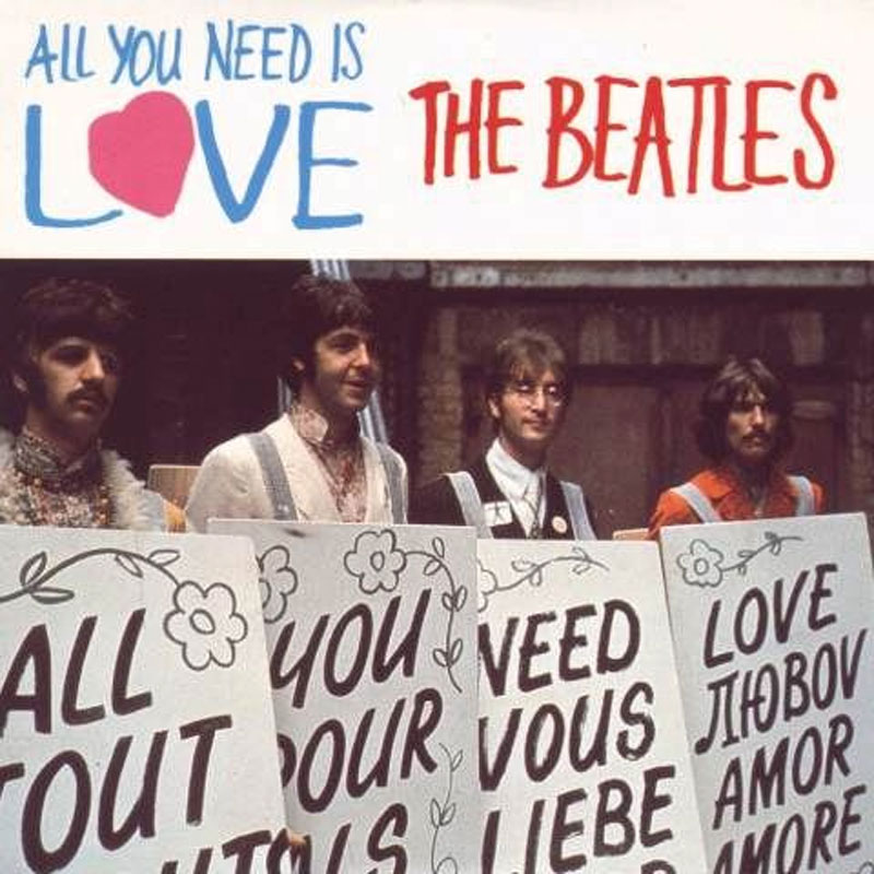 Beatles + BBC: Our World Global TV broadcast: All You Need is Love 1967