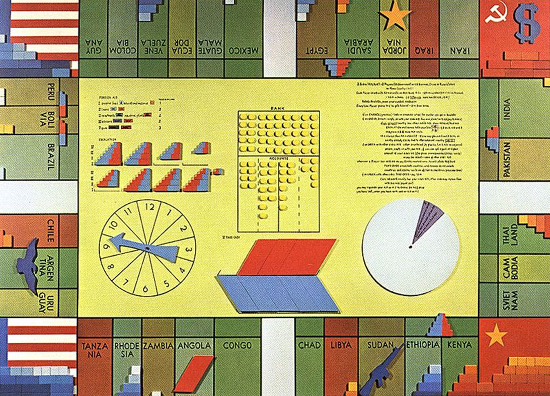 Oyvind Fahlstrom: World Politics Monopoly 1970