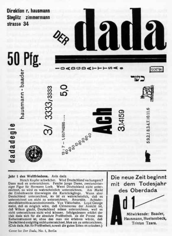 1918_Hausmann_DADA_issue-1_c
