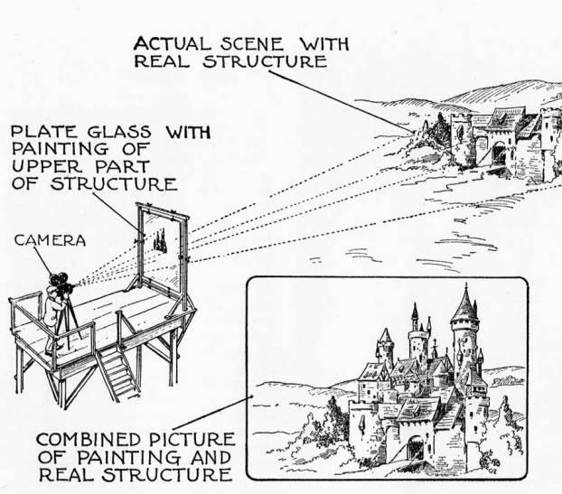 1938_Glass-matte-painting_diagram_c