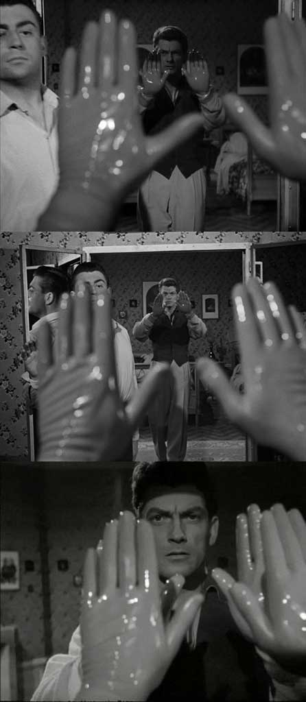 1949_Cocteau_Orphee_rubber-gloves_strip_c